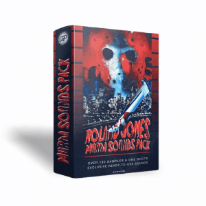 ROLAND JONES – MURDA SOUNDS PACK VOL. 1 (Phonk Drum Kit and One Shot Kit)
